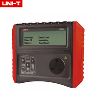 UNI T UT528 Safety Testers Battery Powered PAT Meter Insulation Ground Resistance Tester Cord Test Out