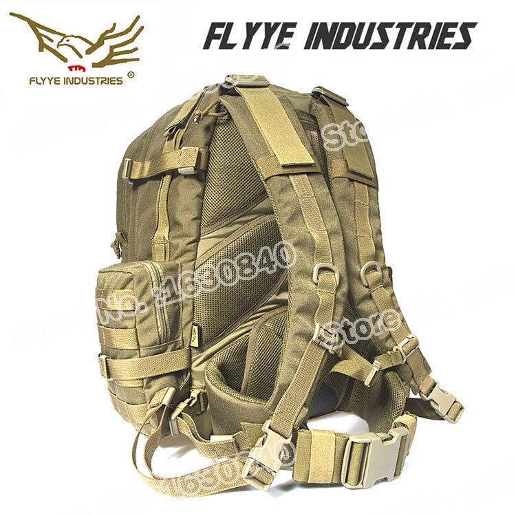 Flyye Táctico Edc Hidratación Mochila Molle Sistema Airsoft Senderismo Cordura N