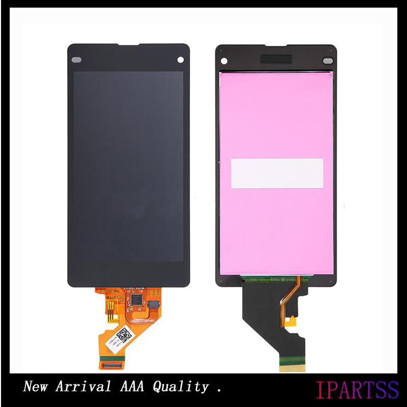 ФОТО 10pcs/lot New For Sony Xperia Z1 compact LCD Display Screen Assembly For Sony Z1 Mini Screen