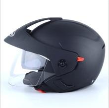 White color Motocross Helmet open Face Safety Motorcycle Modular Open Double Lens Dual Visors