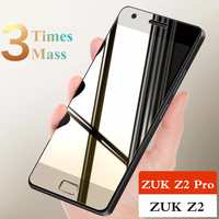 Full Cover Tempered Glass For Lenovo ZUK Z2 Z2 Pro Z2Pro Screen Protector 2.5D 9H Hardness Explosion-proof Glass Film For ZUK Z2