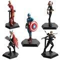 1 unids The Avengers IronMan Thor Figura de Acción DEL PVC Modelo Colección Regalo Juguetes Capitán América Super Héroe Batman S30