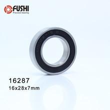16287 нестандартные шарикоподшипники(1 шт.) Внутренний диаметр 16 мм наружный диаметр 28 мм толщина 7 мм подшипник 16*28*7 мм