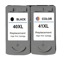 Ink Cartridge 2PK PG40 40 CL41 41 Cartouche encre Replacement For Canon Pixma MP160 MP140 MP180 MP190 MP210 MP220 MX310 iP1800