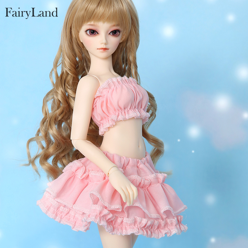 Fairyland Minifee Shushu 1/4 BJD SD Doll Model Girl Body High Quality Silicone Resin Toys For Girls Birthday Xmas Best Gifts