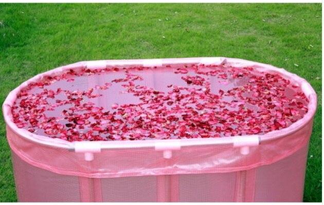 Vasca Da Bagno Uma : Formato 110*60*65 cm in acciaio inox pieghevole vasca da bagno