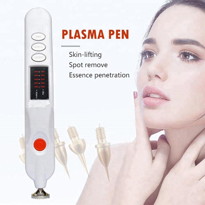 Multi funcional de Plasma láser pluma de piel de Topo verruga de la máquina de eliminación de arrugas pluma lugar pigmento topo párpado de la piel-in Herramientas de cuidado de la piel para la cara from Belleza y salud    1