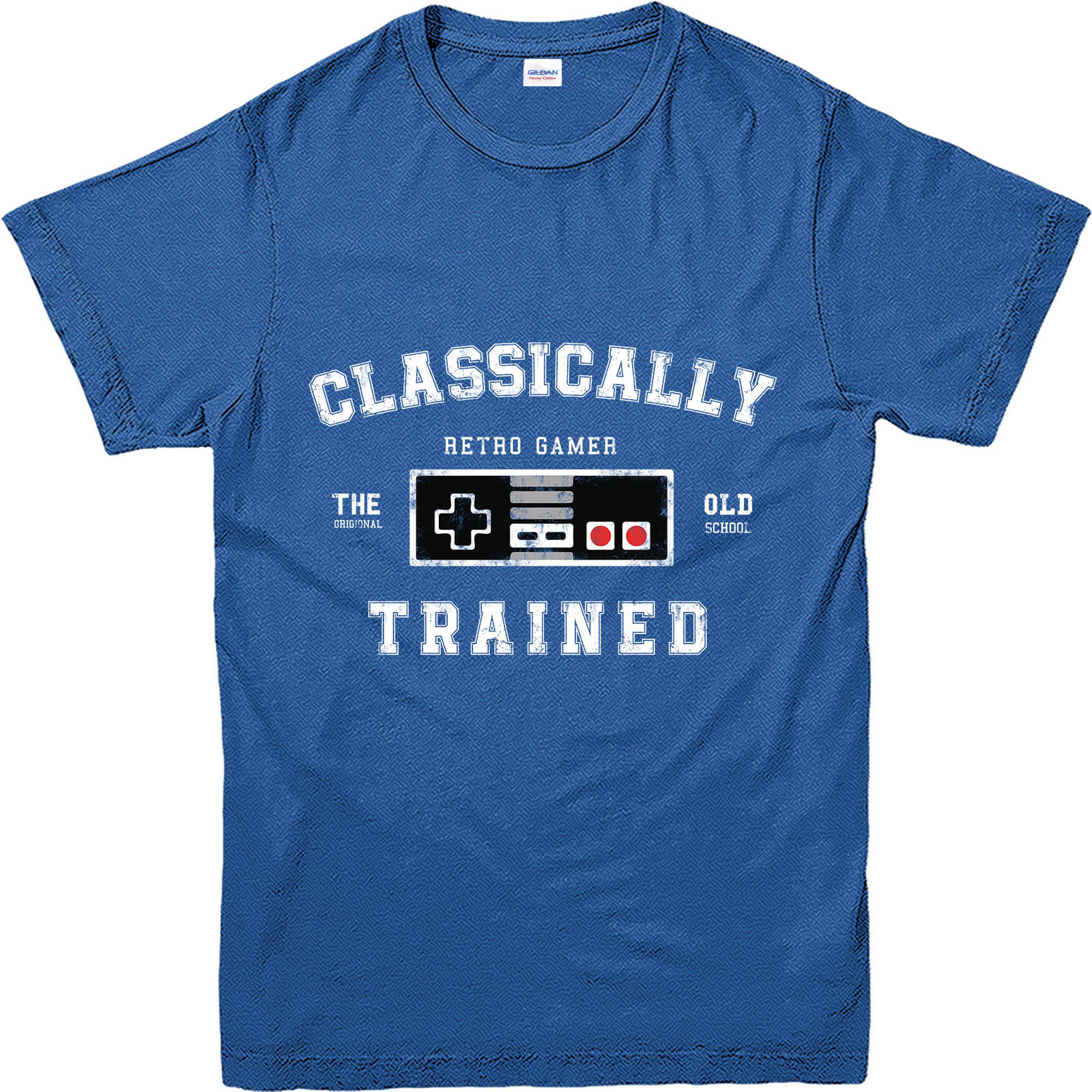 Gaming T-Shirt, Retro Classically Trained T-Shirt, Inspired Design Top (GRCTT)