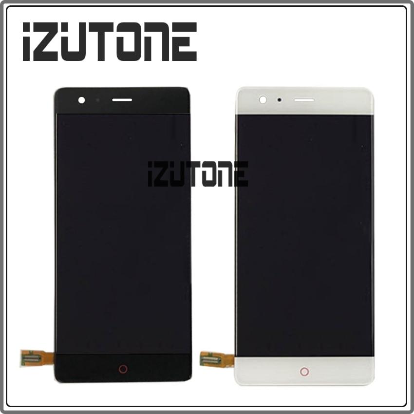 Für ZTE Nubia Z17 NX563J Randloses 6 gb/8 gb RAM 64 gb/128 gb ROM LCD Display touchscreen Digitizer Snapdragon 835 Octa