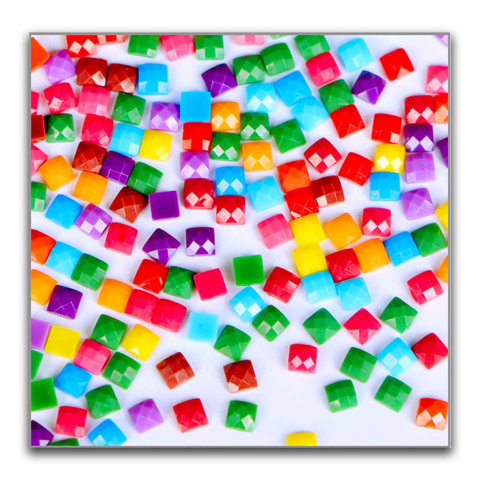 5D Diamant Borduurwerk Geel Rose Diamanten Kruissteek Rubik 'S Cube Diamant Schilderen Diy Diamant Schilderij Bloem LK1