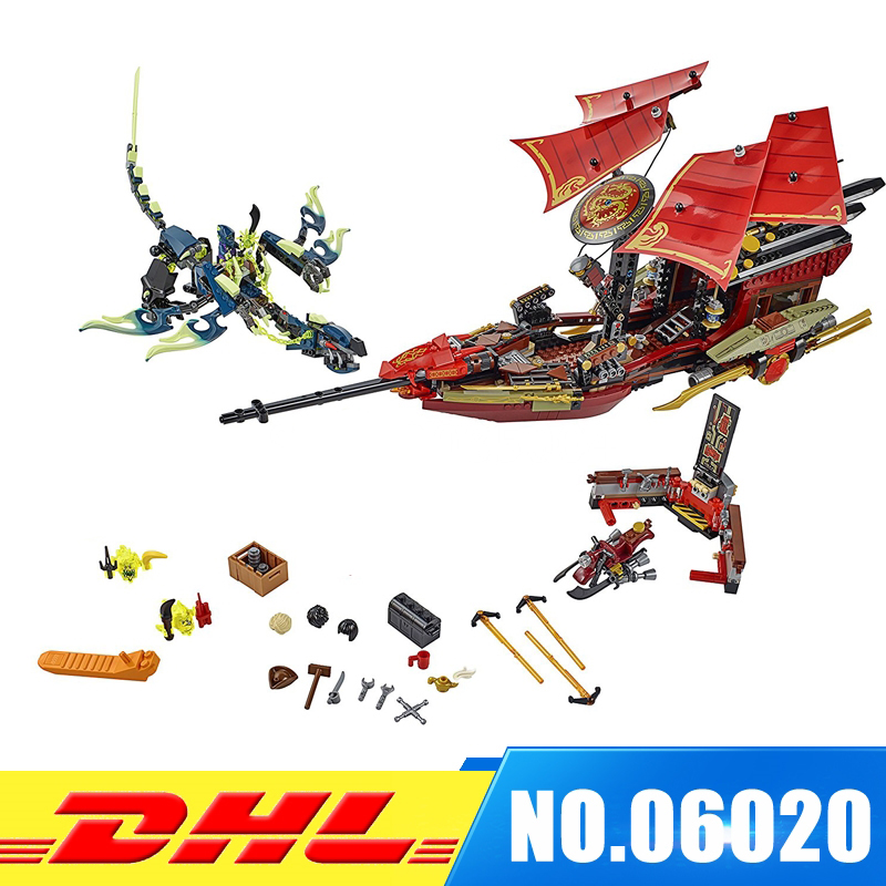 Lepin 06020 Bela Building Blocks Final Fight of Destiny's Bounty Kid Bricks Educational Toys Compatible with 10402 DIY gift Toys
