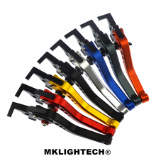 MKLIGHTECH FOR CAN-AM Spyder SM5 (RS models only) 2008-2012 Motorcycle Accessories CNC Short Brake Clutch Levers