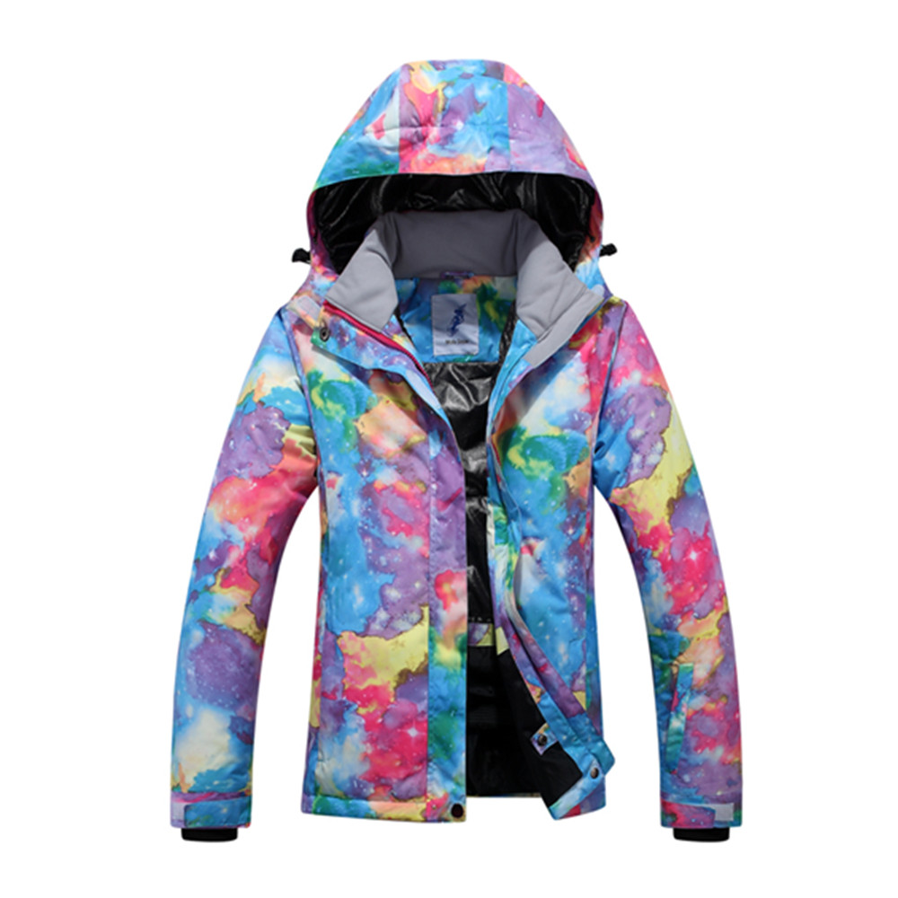 2018 Wintersport Womens Ski Jacket Snowboard Jackets Waterproof Windproof Insulated Outdoor Snow Coat thirty two metcalf insulated jacket clay