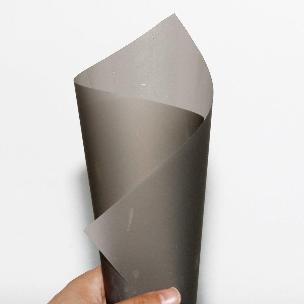 Film d'écran de Projection arrière hologramme gris foncé HOHOFILM 152cm x 50cm pour Film de fenêtre de magasin Film d'écran 60 ''x 20'' - 4