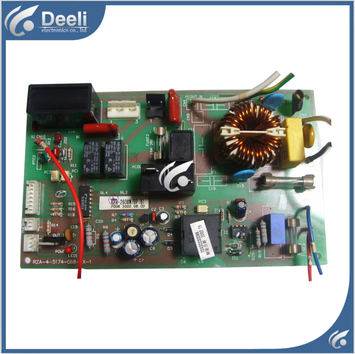 95% new good working Original for air conditioning Computer board rza-4-5174-068-XX-1 KFR-2608W/BP5 good working цена и фото