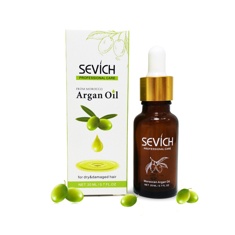 SEVICH 20ml Hair Care Natural Argan Oil for Hair Loss Products Fast Hair Growth Essence Pro Hair Styling Maquiagem Beauty Makeup
