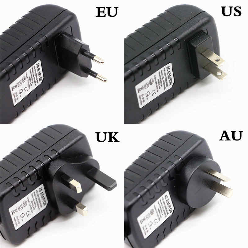 Led-treiber 100-240 V zu 12 V Netzteil 1A 2A 3A 4A 5A 6A 7A 8A 10A 12.5A Led-streifen Stromversorgung 12-150 Watt Beleuchtung Transformatoren