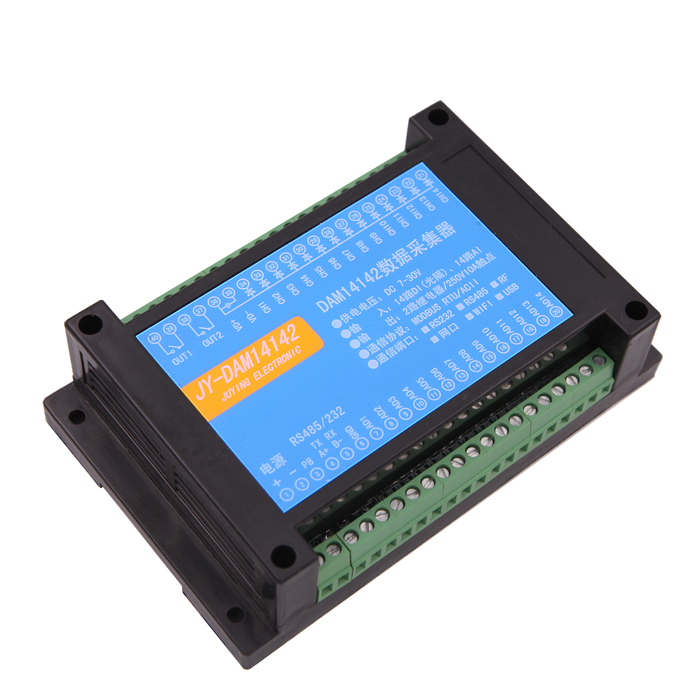 Impartial Dam14142 Rs232/485 Dual Serial Port Relay Output Control Panel 14 Analog Input To Have Both The Quality Of Tenacity And Hardness Measurement & Analysis Instruments