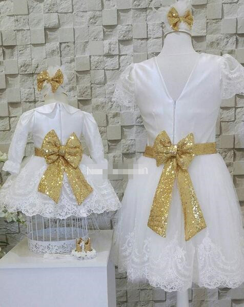 Tulle Baptism Gown Outfits Lace White Ivory Summer Christening Dress Cap Sleeve