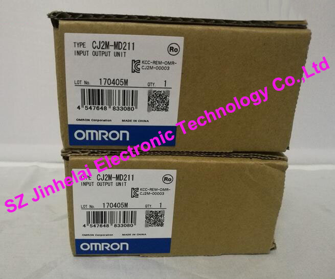 100%New and original CJ2M-MD211  OMRON   PLC  INPUT OUTPUT UNIT