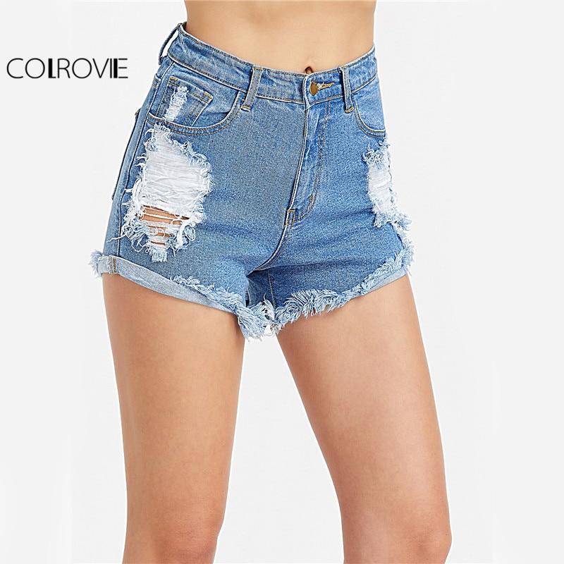 Online Get Cheap Distressed High Waisted Shorts -Aliexpress.com ...