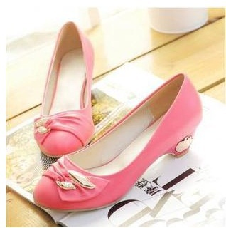 Lady's plus size(4 to 12 )sexy glitter rhinestone soft pointed toe wedges thin high heeled shoes women pumps summer style girls