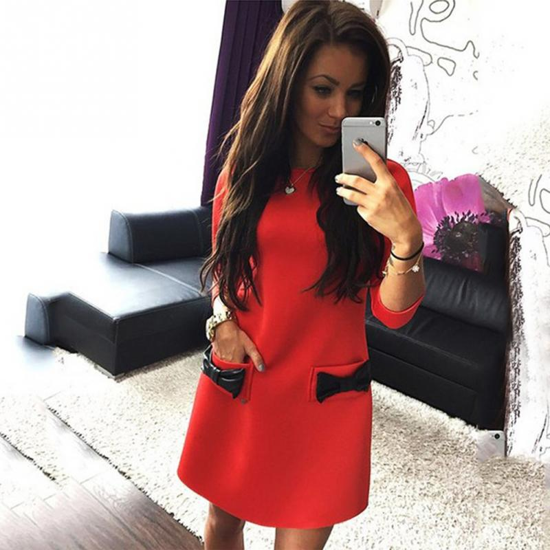 e style dresses red