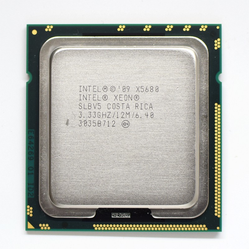 Intel Xeon X5680 3.33GHz LGA1366 12MB L3 Cache Six Core server CPU processor