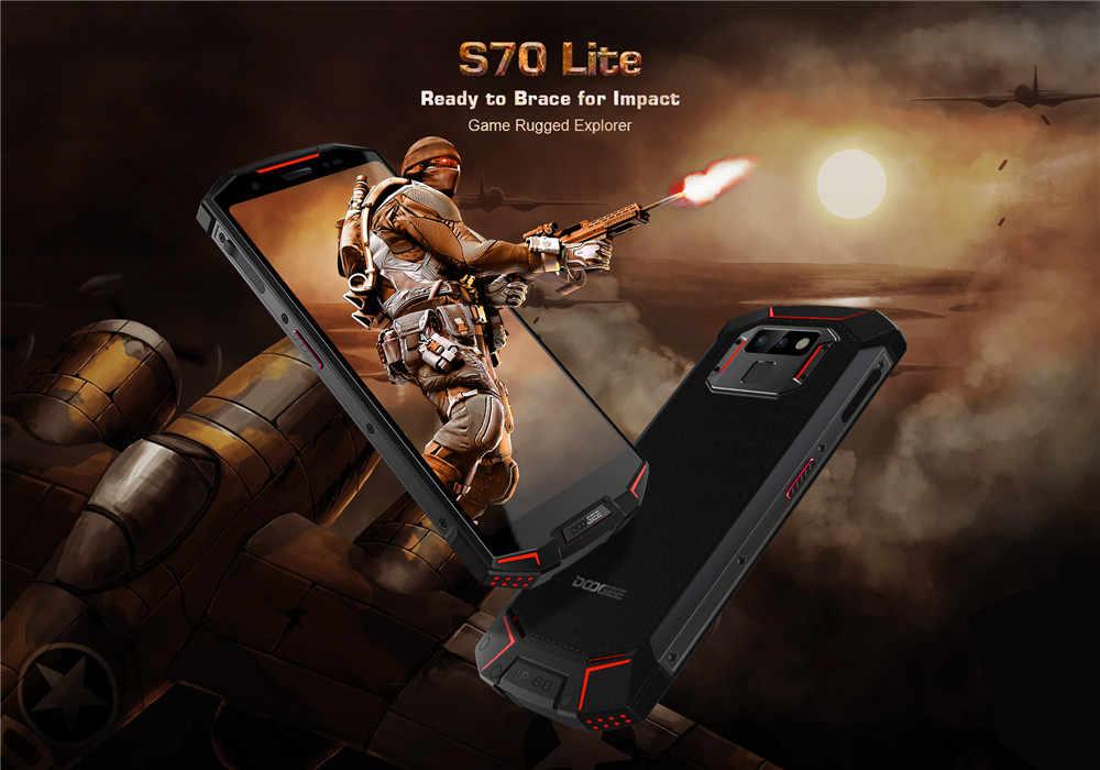 DOOGEE S70 Lite 4G Game SmartPhone IP68 IP69K Waterproof 5 99