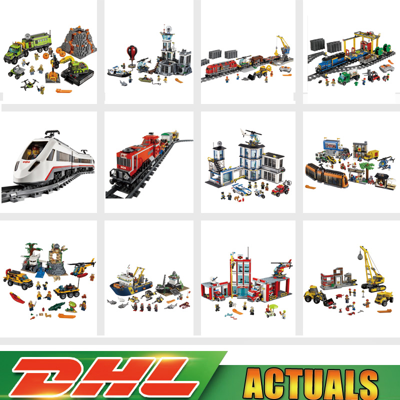 Lepin 02118 02117 02005 02006 02008 02009 02010 02012 02020 02022 02038 02039 02042 City Series Blocks Bricks Toys LegoINGlys