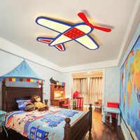 Nuovo Cartone Animato aereo lampadario del Soffitto del Led Moderno lampadario per I Bambini Camera Da Letto lustre Casa Decorazione Interna Illuminazione Apparecchio