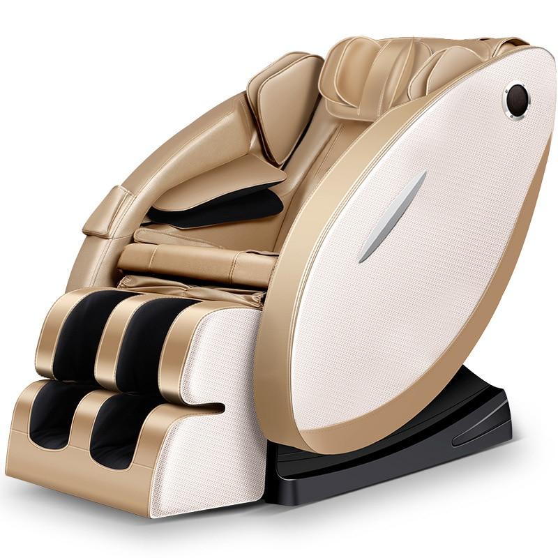 Nouveau fauteuil de Massage sans gravité chauffage électrique complet fauteuil de Massage inclinable canapé de Massage Intelligent Shiatsu livraison gratuite