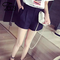 3 Colors New Arrival Wide Leg Shorts Mini Girls Shorts Women Texture Shorts Casual Slim Pure Color Shorts Hot Sale BL1-9