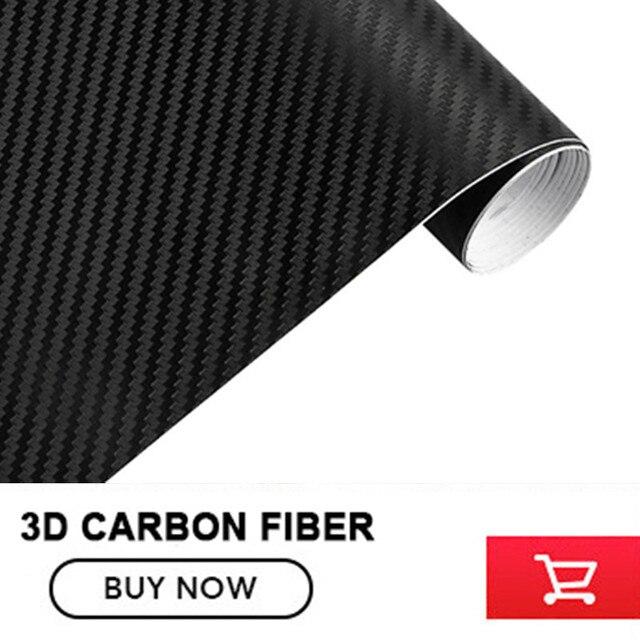 US $167 9 |3D carbon fibre Wrap black FOR boat dash wraps, bikes, phones,  PCs and laptops Carbon Fibre Vinyl Wrap with air channel-in Car Stickers