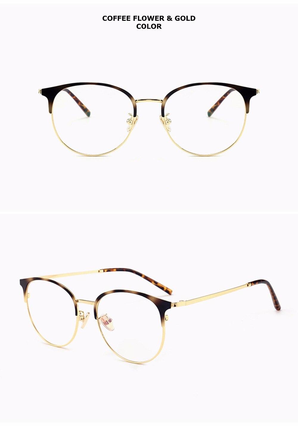 Chashma Marke Qualität Auge Rahmen Retro Großen Kreis Brillen ...