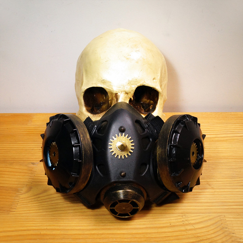 New Design Punk Horror Gas Masks Halloween Make - Up Dance Festivals Party Supplies Cosplay Props Gifts