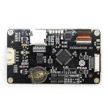 "2.8 ""Nextion משופר HMI אינטליגנטי חכם USART UART סידורי מגע TFT LCD מודול לוח תצוגת פטל Pi uno r3 מגה"