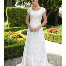 cecelle 2019 Wedding Dresses With Cap Sleeves A-line