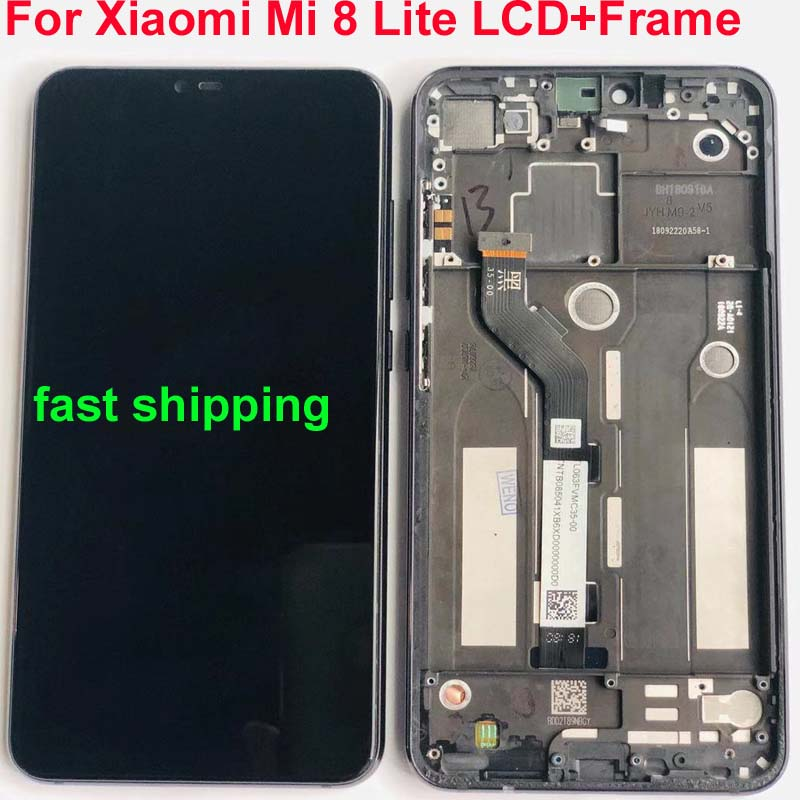 2280 1080 AAA Quality LCD For Xiaomi Mi8 Lite LCD Display Screen Replacement Touch Digitizer Assembly