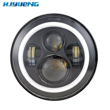 HJYUENG 7inch LED For 22 Motorcycles Touring  Head Light 7 Halo Headlight With Angle Eye