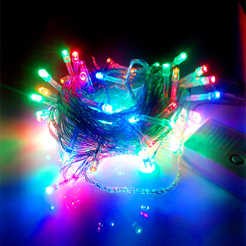 Large Outdoor Christmas Tree Decorations : V us plug m leds led string light christmas tree
