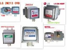 1pcs Original Product   Magnetron  2m213 2M219J  2M214  2m261 m32 2M226  OM75S(31)  for Panasonic Samsung  LG  Microwave Oven