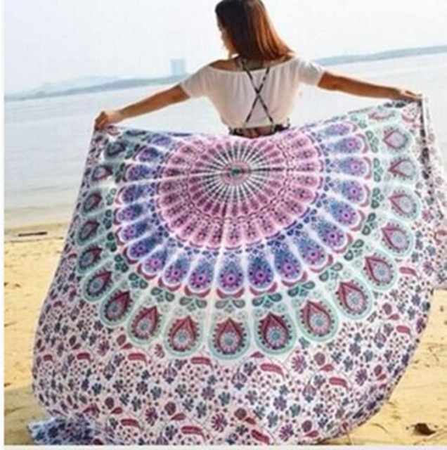 Cammitever Tapestry Wall Hanging Fabric Hangings Purple Blue Large Tablecloths Hippy