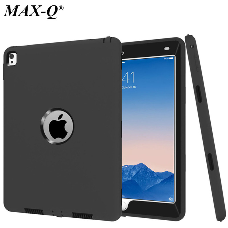 Funda For Apple iPad Pro 9.7 Case All Round Protective Cover 3 Layer Plastic + Silicon Case for iPad Pro 9.7 inch Coque Capa пена монтажная mastertex all season 750 pro всесезонная