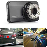 Dash Cam Dual Lens Car DVR Vehicle Camera Full HD 1080P 3 Front+Rear Night Vision Video Recorder G sensor Parking Monitor