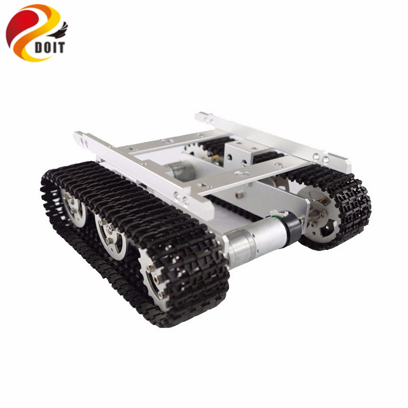 Official DOIT Update Version with Hall Sensor Motors Tank Car Chassis/Tracked for DIY/Robot Smart Car Part for Remote Control