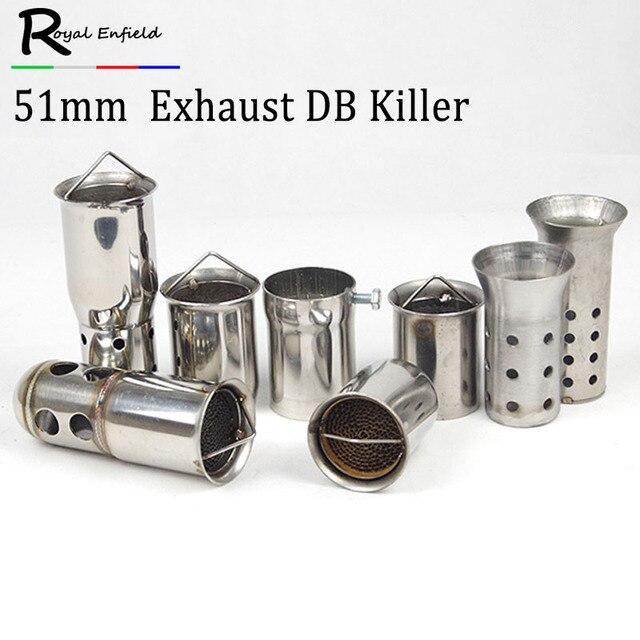 db killer 60mm  universal 51/60MM Catalyst DB Killer for Motorcycle Exhaust Muffler ...