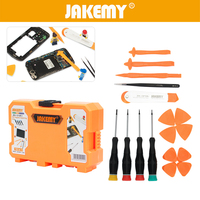 JAKEMY 18 In 1 Opening Pry Spudger Tools Screwdriver Set For Repairing Iphone Mobile Phone PC