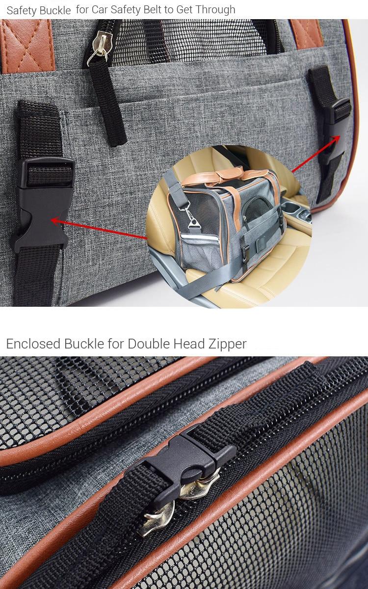 Breathable K9 Dog Backpack Carrier 11