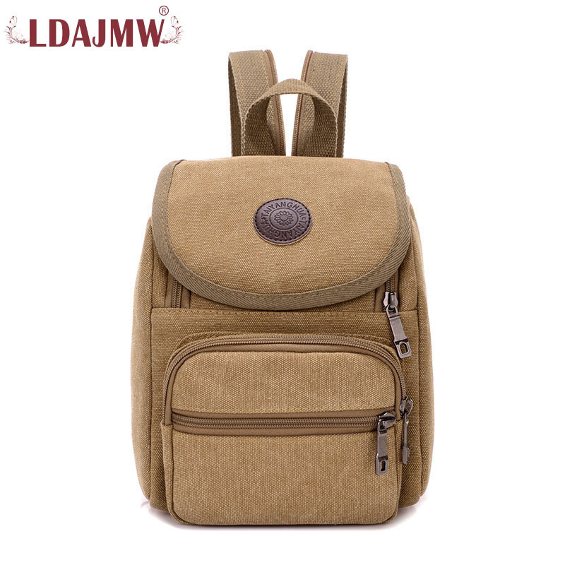 LDAJMW Simple Large Capacity Mens Canvas Backpack For Travel Casual Men Fashion Leisure Travle Backpack Mochila Feminina
